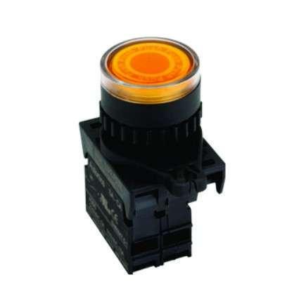 Botão 22,5mm iluminado série S2PR-P3  Autonics