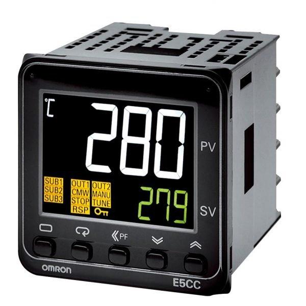 Controlador de Temperatura E5CC-RX2DSM-800