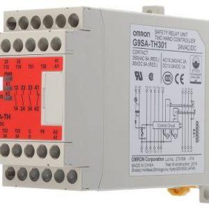 Relé de Segurança para Bimaual Omron G9SA-TH301