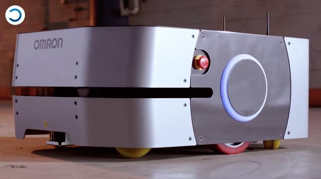 A OMRON lança em todo mundo o robô móvel LD-250 para mover cargas de até 250 kg