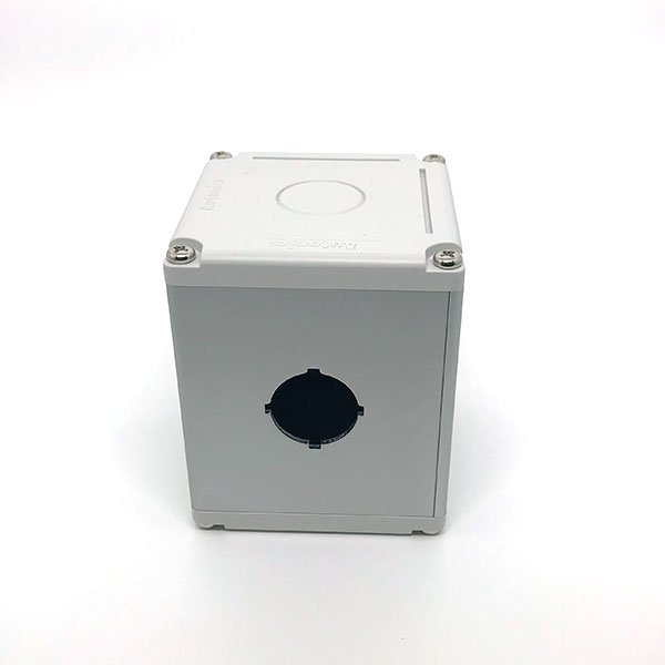 Caixa para botão Autonics, 1 furo, diam.22mm - SA-SB-1