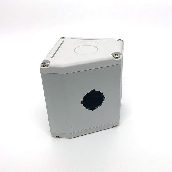 Caixa para botão Autonics, 1 furo, diam.22mm, fixação inclinada - SA-TB1