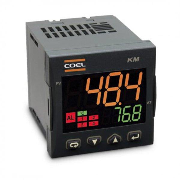 Controlador de Temperatura KM1B- ALIM. 100 A 240VCA/VCC