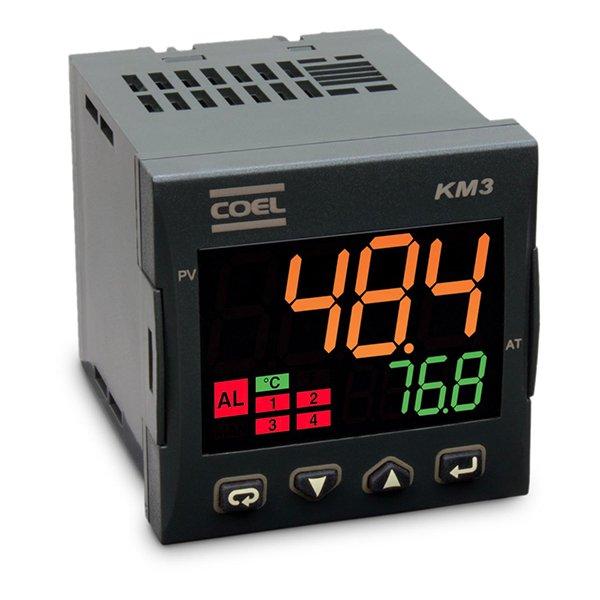 Controlador de processos - KM3 ALIM. 100 A 240VCA/VCC TTL MODBUS